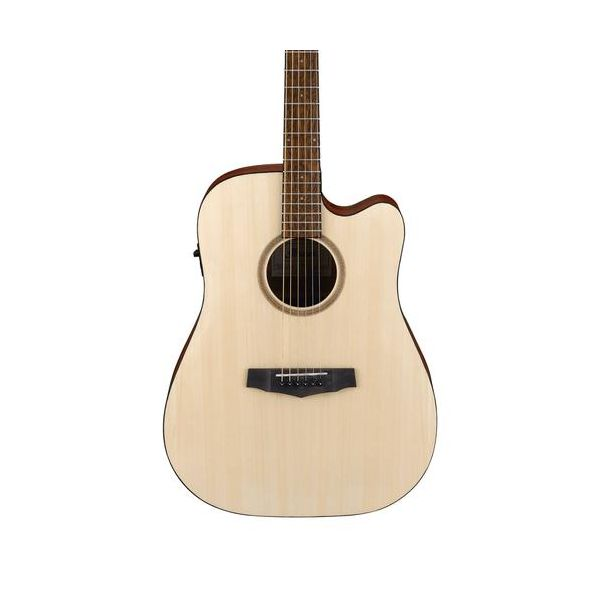 IBANEZ PF10CE-OPN ACOUSTIC-ELECTRIC GUITAR - OPEN PORE NATURAL